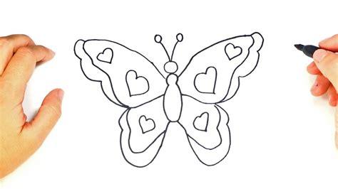 imagenes de mariposas sencillas c 243 mo dibujar una mariposa paso a paso dibujo f 225 cil de