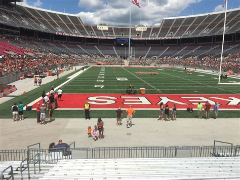 Ohio Stadium Student Section by Ohio Stadium Section 37aa Rateyourseats