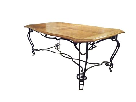 Iron Dining Room Table Oak And Iron Dining Table For Sale At 1stdibs