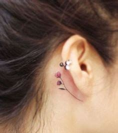 southpaw tattoo behind ear 40 amazing behind the ear tattoos for women tattoo