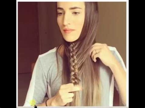 Cara Mengepang Rambut | cara mengepang rambut yang unik youtube