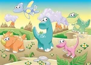 Komar Wall Murals photo wallpaper dinosaurs land kids room wall mural