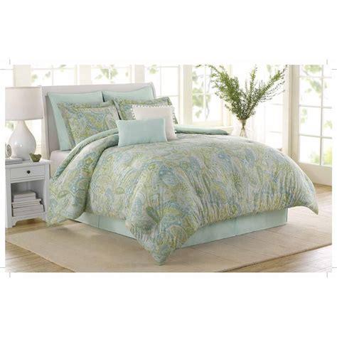 california king cotton comforter soho new york home sea glass 8 piece cotton comforter set