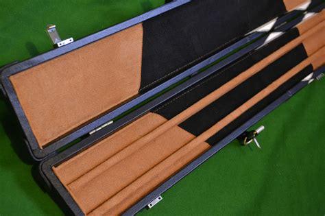 Snooker Cues Handmade - handmade 1 wide snooker cue black white