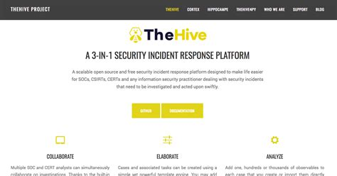 Thehive Project Malware Incident Response Template