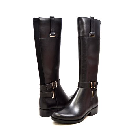 narrow calf boots solemani s gabi x slim 12 13 calf black leather boot
