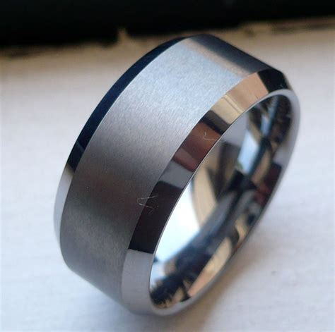 Tungsten Carbide Ring Wedding by The Phenomenon Of Tungsten Carbide Rings Pros And Cons