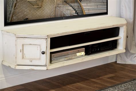shabby chic tv console traditional brown captain s credenza vintage