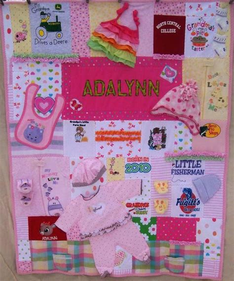 pattern for baby clothes quilt memory photo quilts co nnect me