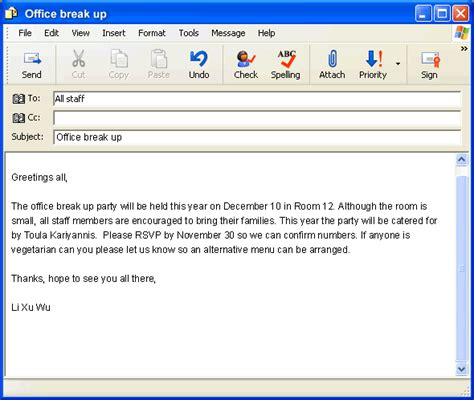 format email in english 7 email exles in english sales resumed