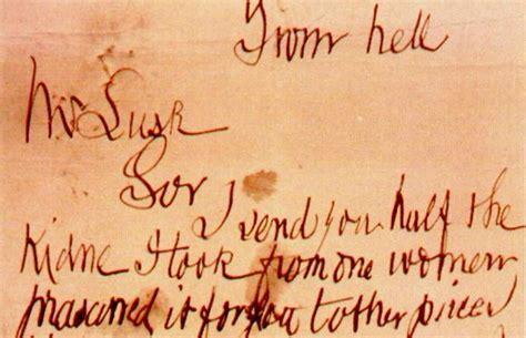 lettere di lo squartatore lo squartatore nome vero vittime e lettere