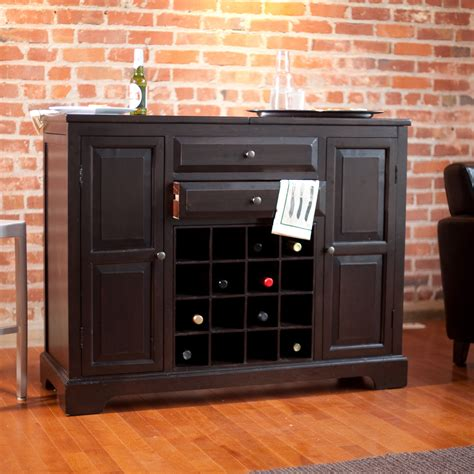belham living carlow espresso home bar wine furniture at
