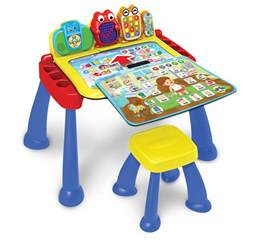 activity desk vtech expands learning with new three in one