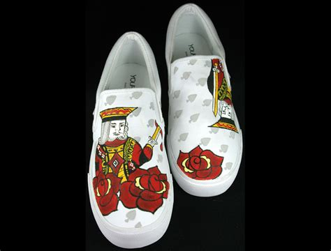 Customize Your Shoes by The King 226 Customized Vans Shoes Customize