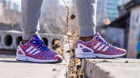 Adidas Zx Flux Rainbow Prism adidas originals zx flux weave quot prism quot le site de la sneaker