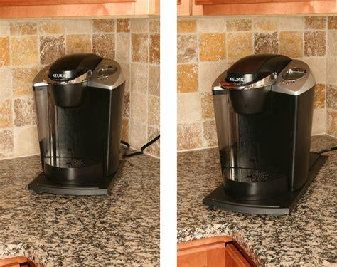 small under cabinet coffee maker sliding shelf handy caddy sliding kitchen under cabinet