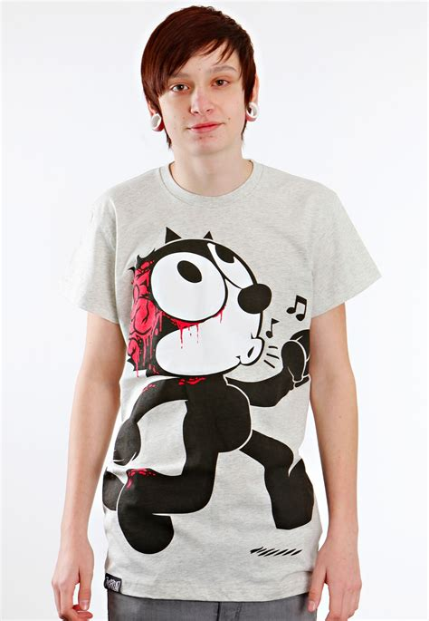 Drop Dead Shirt drop dead felix the cat shirt on the hunt