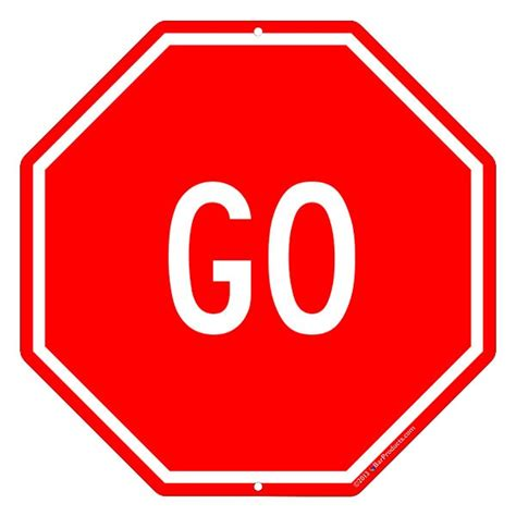 to go free or not to go free should you choose stop and go signs clipart clipart suggest