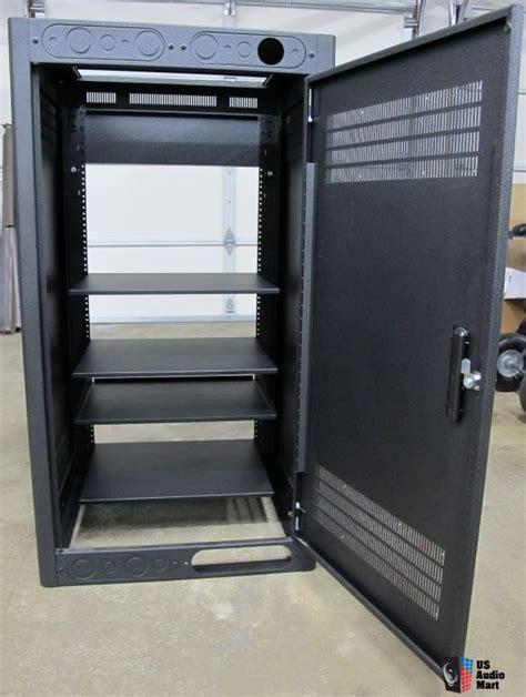 lowell home theater audio visual av floor cabinet photo