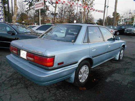 1990 Toyota Camry Price 1990 Toyota Camry Le 4dr Sedan Cars And Vehicles San