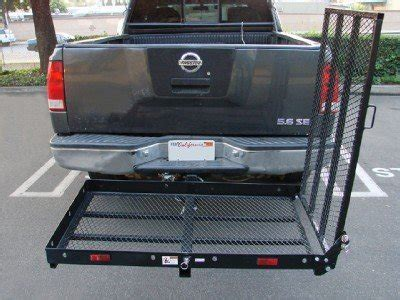TMS Folding Strong Electric Wheelchair Hitch Carrier