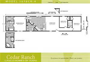 Scotbilt Mobile Home Floor Plans Singelwide Single Wide 2 Bedroom House Plans One Level Doublewide