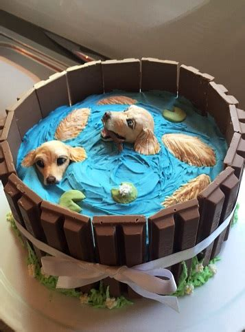 golden retriever birthday cake golden retriever cake by gamergirl84244 on deviantart
