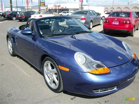 blue porsche boxster 2000 zenith blue metallic porsche boxster 47005268 photo