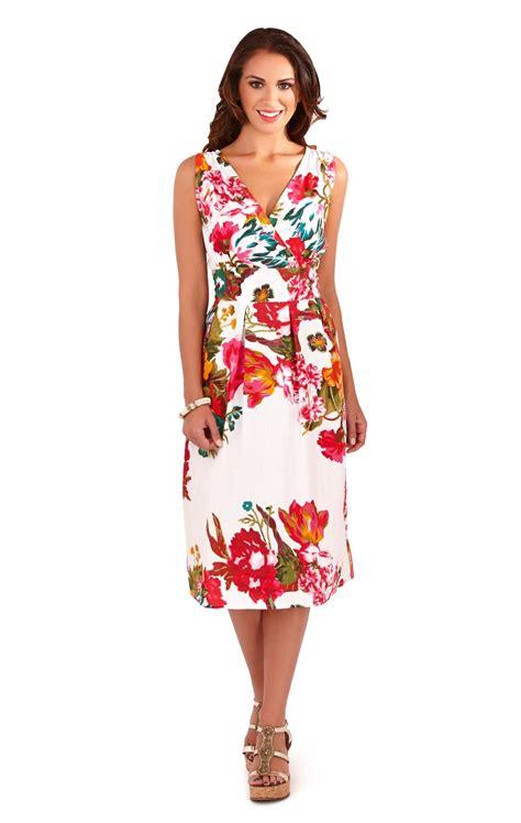 ebay womens dresses womens dress 100 cotton floral summer dress mid knee