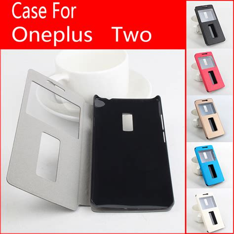 Cover Oneplus 2 Oneplus Two Flipcover Oneplus 2 Oneplus Two Ume Clas 100 original oneplus two protective flip leather cover for one plus 2 smartphone back