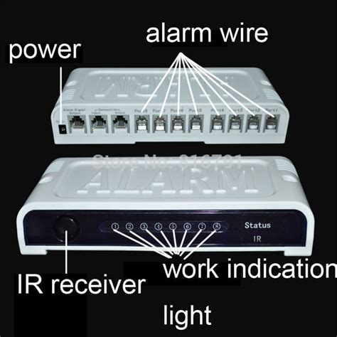Alarm Display Handphone 8 ports cell mobile phone security display alarm system