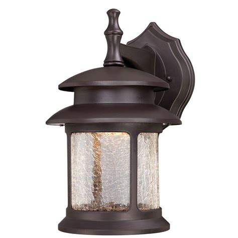 backyard bronze casting westinghouse wall mount led outdoor oil rubbed bronze cast