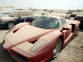 Car In Dubai Abandoned Luxury Cars In Dubai