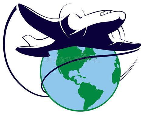 clipart viaggi logo de voyage du monde illustration de vecteur image du