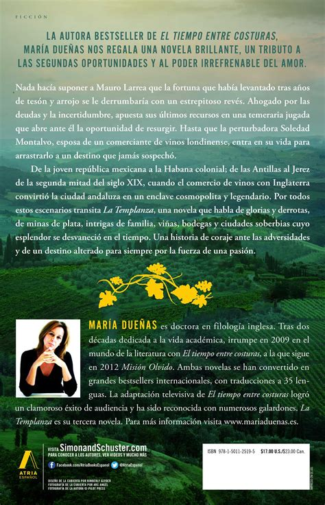 libro la templanza spanish edition la templanza spanish edition book by maria duenas official publisher page simon