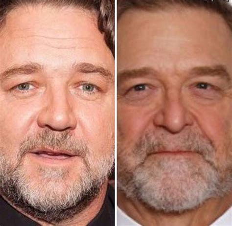 russell crowe is turning into john goodman
