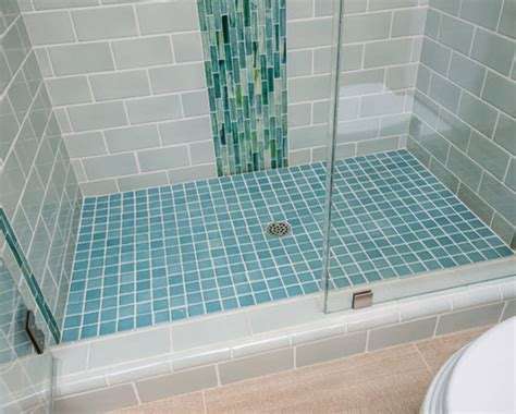 blue glass tile bathroom 40 blue ceramic bathroom tile ideas and pictures