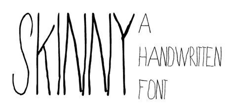 dafont the skinny skinny font dafont com