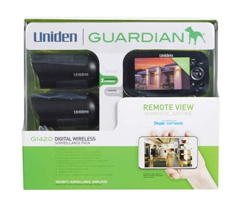 uniden guardian is a diy wireless surveillance system