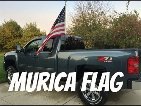 Truck Bed Flag Pole by Create Install Flag Pole For Truck