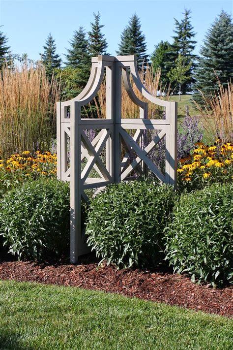 images  wooden garden obelisks  pinterest