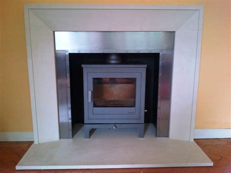 Metro Fireplaces by Metro Fireplace With Shoreditch Stove From Chesneys The