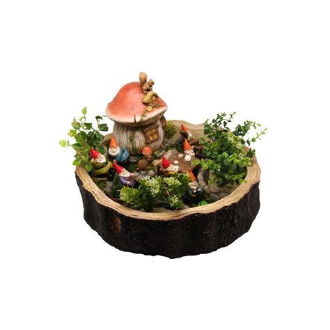 alpine gnome  ball statue gxt  home depot