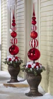 ornament topiary christmas ideas pinterest