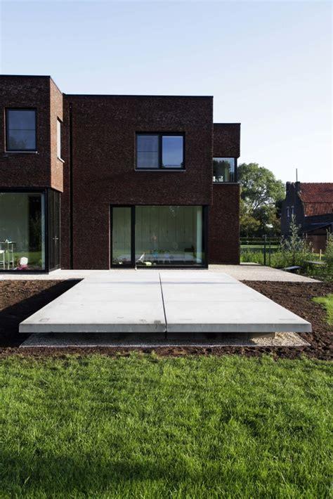 moderne terrassen terrassen bij moderne woningen de jonghe eeklo