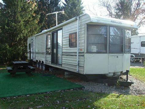2 bedroom park model rv buy 1994 avalon 40 park model 2 bedrooms rv cer