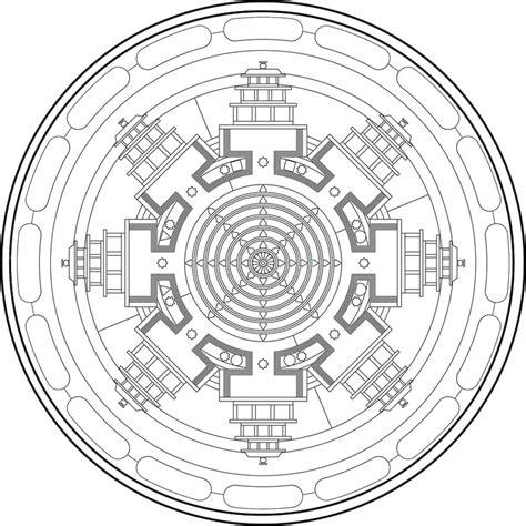 imagenes mandalas tibetanos mandalas tibetanos para colorear imagui