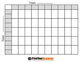 Football Board Template by Free Printable Football Squares Grid Visit Our Store To