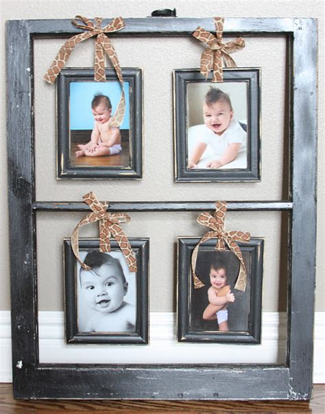 how to hang a picture frame remodelaholic 100 ways to use old windows