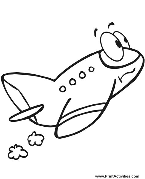 airplane clipart coloring page airplane cartoon black and white clipart best